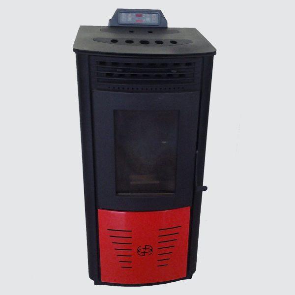 la-graco-stufa-a-pellet-usata-rosso-nero